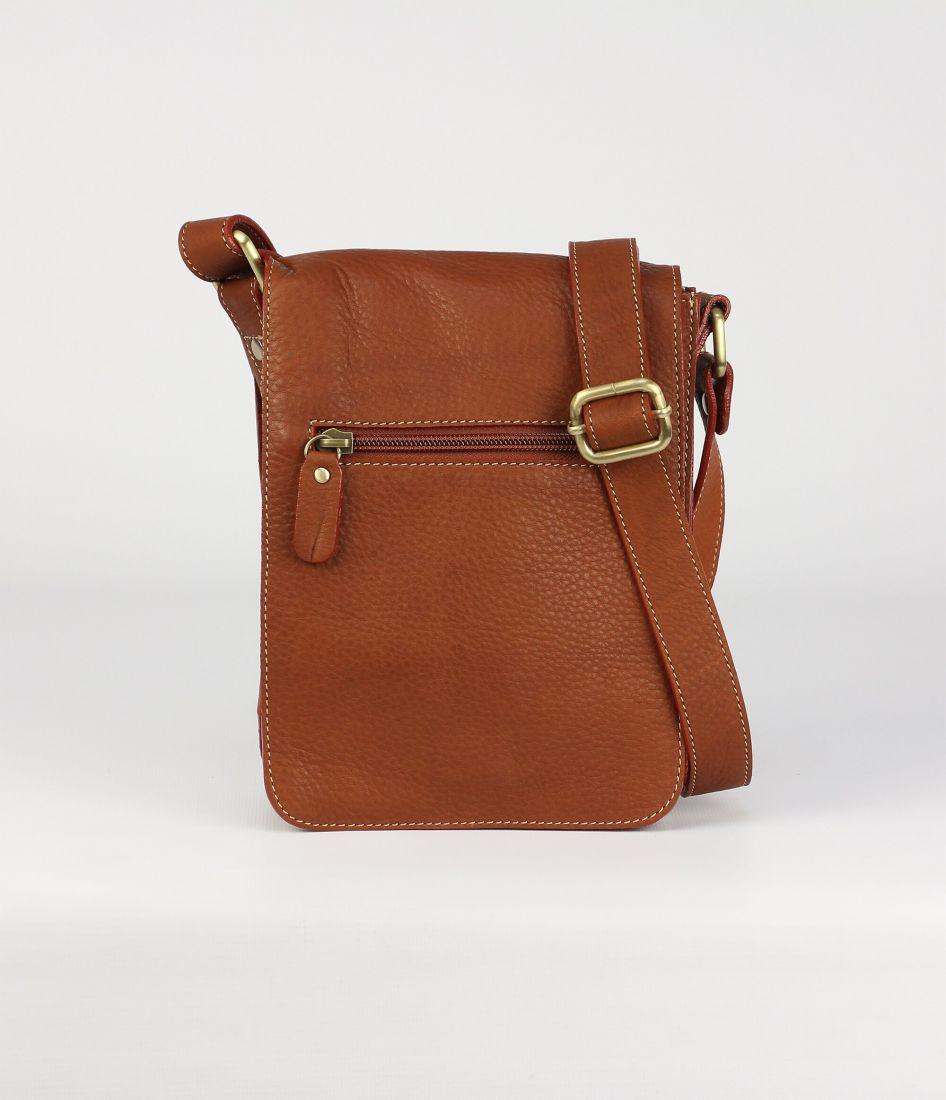 BUFALO SMJ-03 CAMEL кожаная сумка для документов